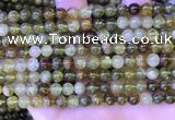 CGA700 15.5 inches 6mm round green garnet beads wholesale