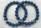 CGB2624 7.5 inches 8mm round natural apatite beaded bracelets