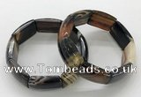 CGB3201 7.5 inches 18*29mm agate gemstone bracelets wholesale