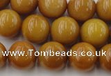 CGJ304 15.5 inches 12mm round goldstone jade beads wholesale