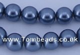 CGL240 5PCS 16 inches 20mm round dyed plastic pearl beads wholesale