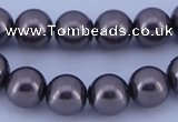 CGL410 5PCS 16 inches 20mm round dyed plastic pearl beads wholesale