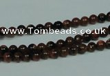 CGS200 15.5 inches 4mm round blue & brown goldstone beads wholesale