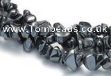 CHE09 34 inches hematite chips beads strand Wholesale