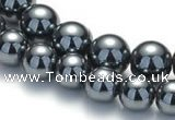 CHE19 16 inches 10mm & 12mm round hematite beads Wholesale