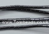 CHE755 15.5 inches 2*2.5mm tube hematite beads wholesale