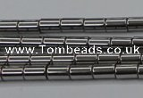 CHE767 15.5 inches 3*5mm tube plated hematite beads wholesale