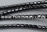 CHE772 15.5 inches 2*2mm drum hematite beads wholesale