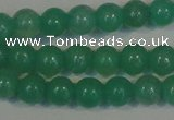 CHM20 15.5 inches 4mm round green hemimorphite beads