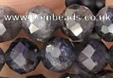 CIL122 15.5 inches 7mm faceted round iolite beads wholesale