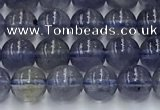 CIL126 15.5 inches 6mm round natural iolite beads wholesale