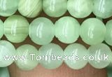 CJB308 15.5 inches 4mm round dyed green jade gemstone beads