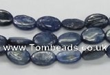 CKC220 15.5 inches 8*12mm oval natural kyanite beads wholesale