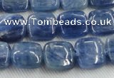 CKC521 15.5 inches 8mm square natural Brazilian kyanite beads