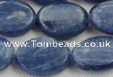 CKC537 15.5 inches 15*20mm oval natural Brazilian kyanite beads