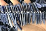 CKC548 Top drilled 10*16mm - 12*50mm sticks kyanite beads