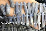 CKC549 Top drilled 10*16mm - 12*50mm sticks kyanite beads
