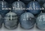 CKC772 15.5 inches 10mm round blue kyanite beads wholesale