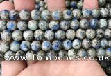 CKJ414 15.5 inches 8mm round k2 jasper beads wholesale