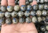 CKJ418 15.5 inches 14mm round k2 jasper beads wholesale