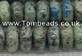 CKJ436 15.5 inches 5*8mm - 5*9mm rondelle natural k2 jasper beads