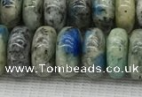 CKJ440 15.5 inches 5*10mm - 6*10mm rondelle natural k2 jasper beads