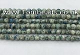 CKJ470 15.5 inches 6mm round natural k2 jasper beads wholesale