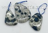 CKJ495 25*35mm - 40*55mm freeform k2 jasper slab pendants