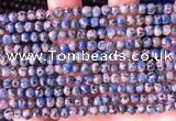 CKJ700 15.5 inches 4mm round imitation k2 jasper beads wholesale