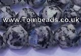 CKJ708 15.5 inches 10mm faceted nuggets imitation k2 jasper beads