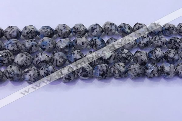 CKJ709 15.5 inches 12mm faceted nuggets imitation k2 jasper beads