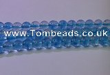 CKQ372 15.5 inches 8mm round dyed crackle quartz beads