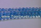 CKQ374 15.5 inches 12mm round dyed crackle quartz beads
