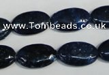 CKU132 15.5 inches 12*20mm oval dyed kunzite beads wholesale