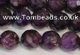 CKU25 15.5 inches 14mm faceted round purple kunzite beads wholesale