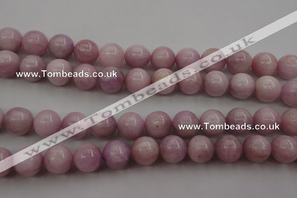 CKU256 15.5 inches 13mm round pink kunzite beads wholesale