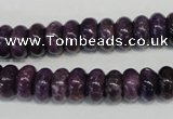 CKU32 15.5 inches 6*10mm rondelle purple kunzite beads wholesale