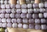 CKC333 15.5 inches 10*12mm tube kunzite gemstone beads
