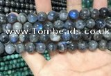 CLB1012 15.5 inches 10mm round labradorite beads wholesale