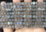 CLB1031 15.5 inches 6mm round labradorite beads wholesale