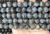 CLB1035 15.5 inches 12mm round labradorite beads wholesale