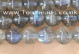 CLB1056 15.5 inches 4mm round labradorite gemstone beads