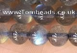 CLB1062 15.5 inches 6mm round natural labradorite gemstone beads