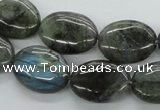 CLB114 15.5 inches 15*20mm oval labradorite gemstone beads wholesale