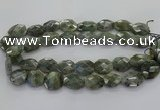 CLB767 15.5 inches 13*18mm - 18*25mm faceted freeform labradorite beads