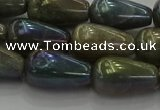 CLB780 15.5 inches 10*20mm teardrop AB-color labradorite beads
