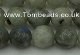 CLB864 15.5 inches 12mm faceted round AB grade labradorite beads