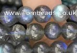 CLB917 15.5 inches 7mm round labradorite gemstone beads