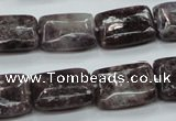 CLI14 15.5 inches 13*18mm rectangle lilac jasper beads wholesale