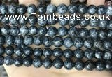 CLJ523 15.5 inches 4mm,6mm,8mm,10mm & 12mm round sesame jasper beads